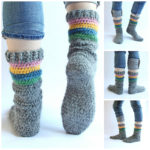 Hey Crocheters, This Free Socks Pattern Is For YOU!