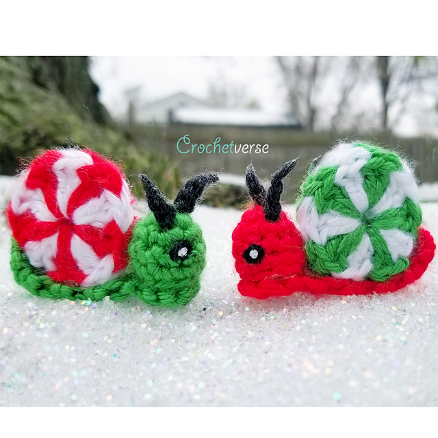 Everyone Needs a Glitter Snail Ornament This Holiday Season!