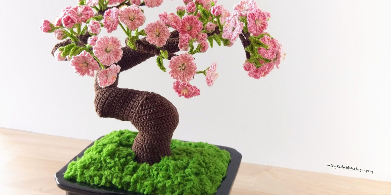 Mingle Doll's Remarkable Handmade Bonsai Crocheted To Perfection
