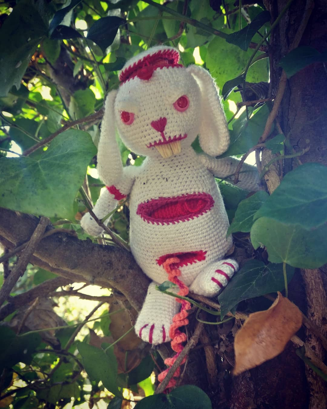 Meet Ed Zombunnny, An Amazing Amigurumi By Sarah Brooke ... Not For The Squeamish!