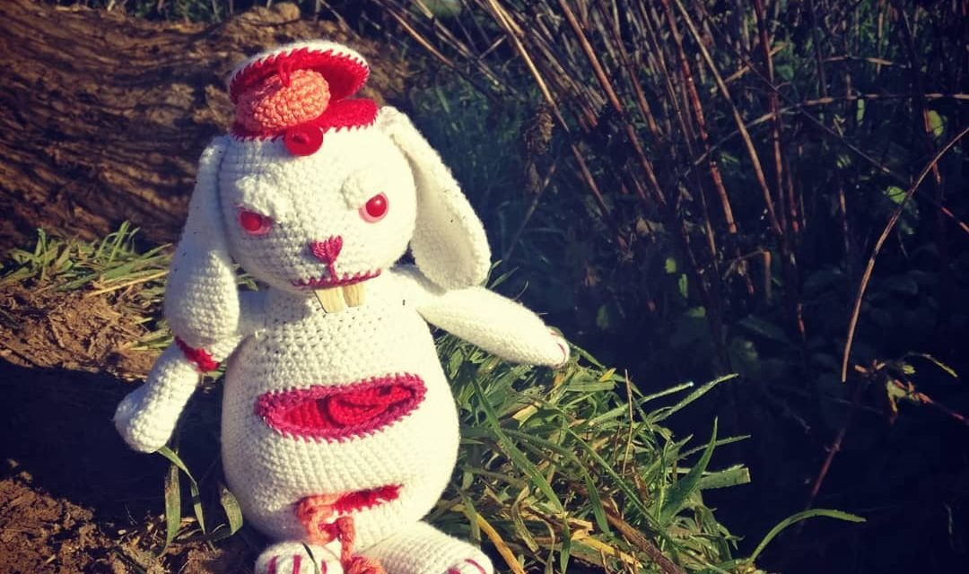 Meet Ed Zombunnny, An Amazing Amigurumi By Sarah Brooke … Not For The Squeamish!