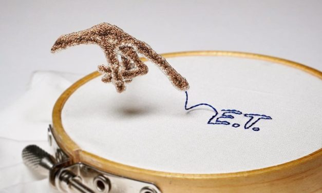 Teeny Tiny 3D Embroidery By ipnot … Prepare To Be Stunned!