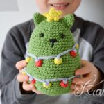 Crochet a Christmas Cat Tree, Pattern By Krawka