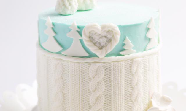 Amazing Cable-Knit-Inspired Anniversary Cake Designed By Sweet Things By Katherine