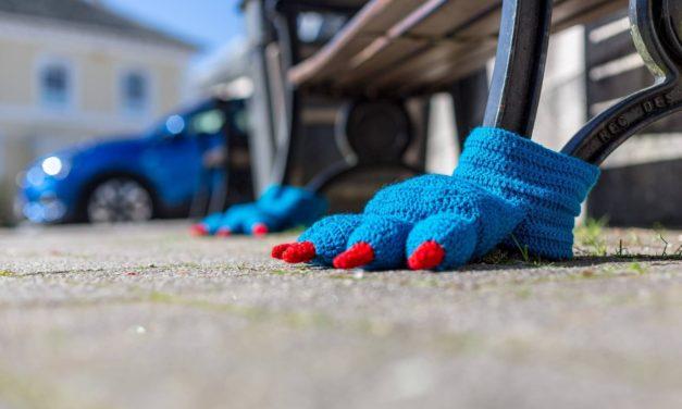 Fun Yarn Bombs Spotted in Liskeard For Their Annual Wool Festival