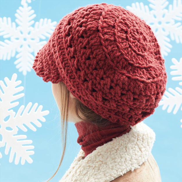Crochet The Perfect Slouchy Hat ... The Pattern Is Free!