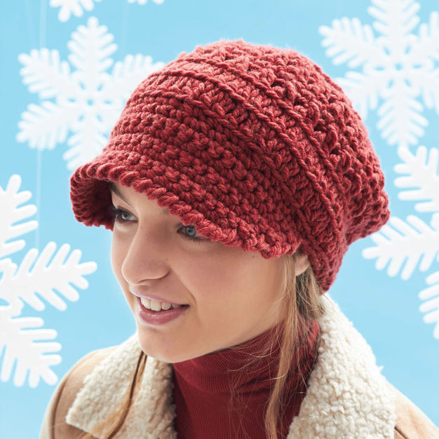 Crochet The Perfect Slouchy Hat … The Pattern Is Free!