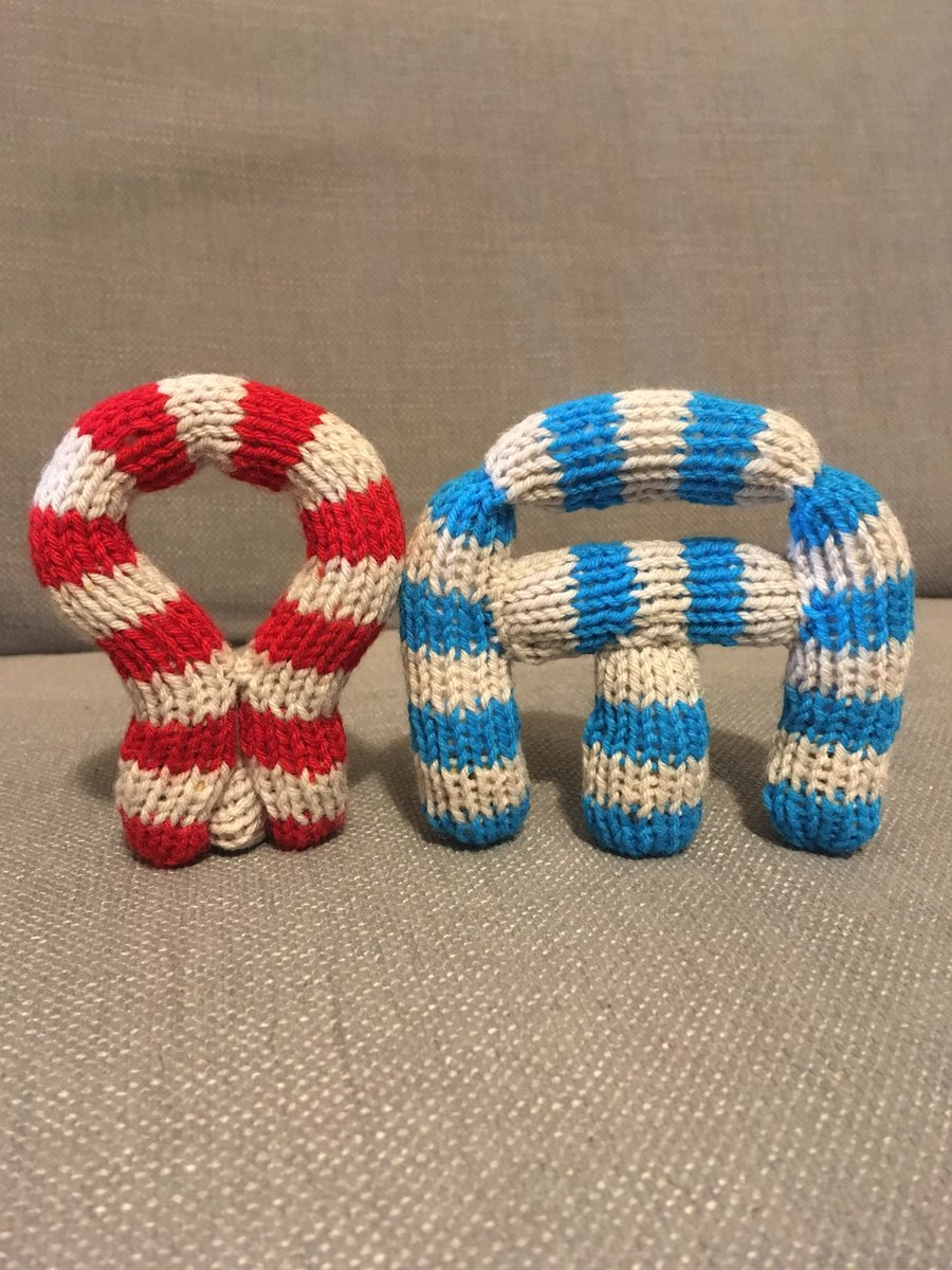 Knitting Her Words: Check Out This Knitted Interpretation of the Linear B Word Ko-Wa