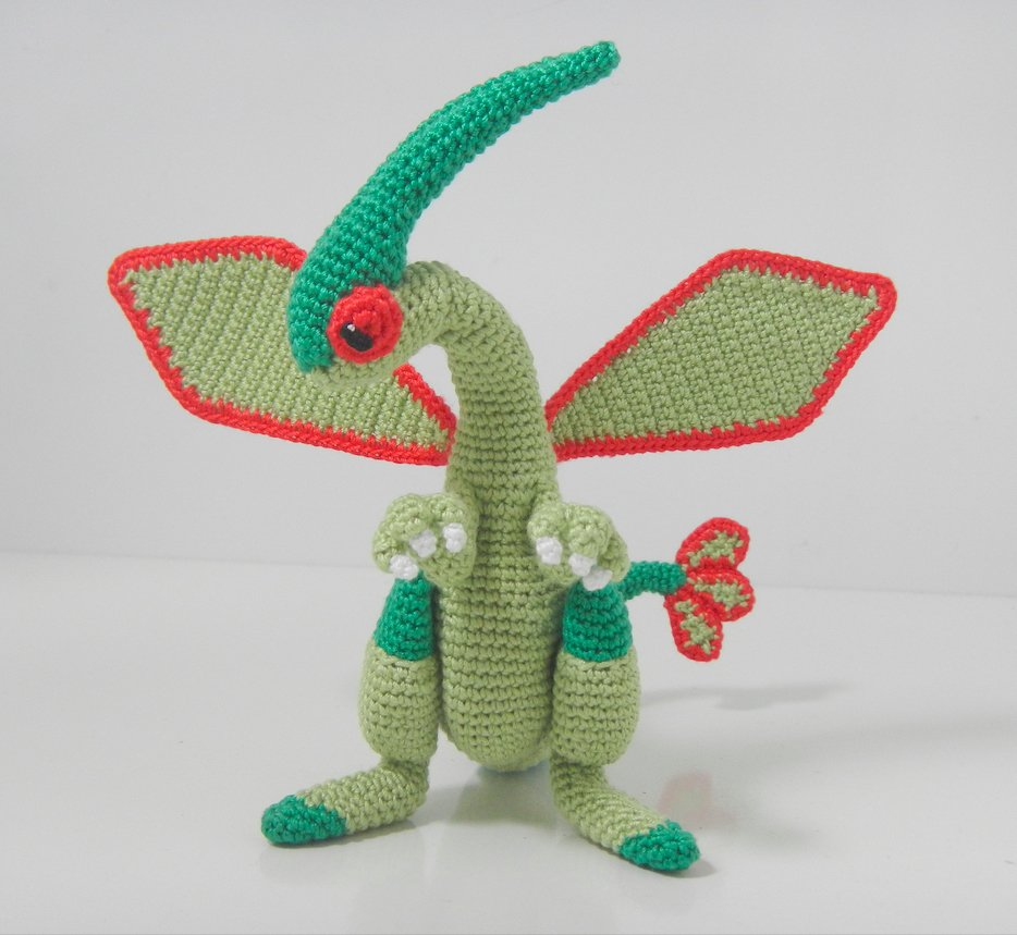 Pokémon Fans, Check Out This Amazing Crocheted Flygon Amigirumi