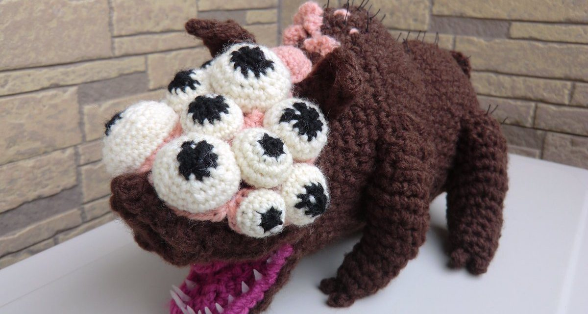 Goliath Pig Amigurumi … Maneater Boar From Bloodborne
