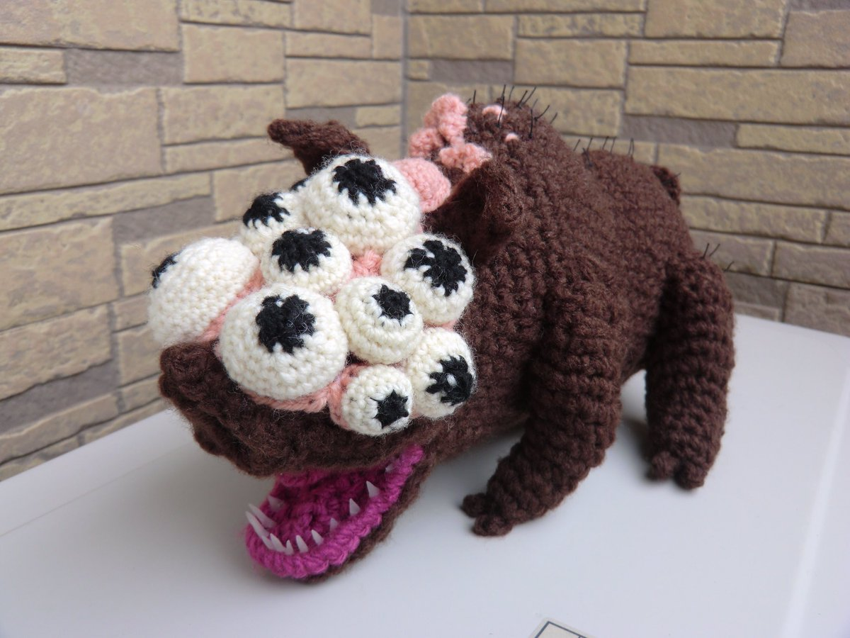 Goliath Pig Amigurumi ... Maneater Boar From Bloodborne