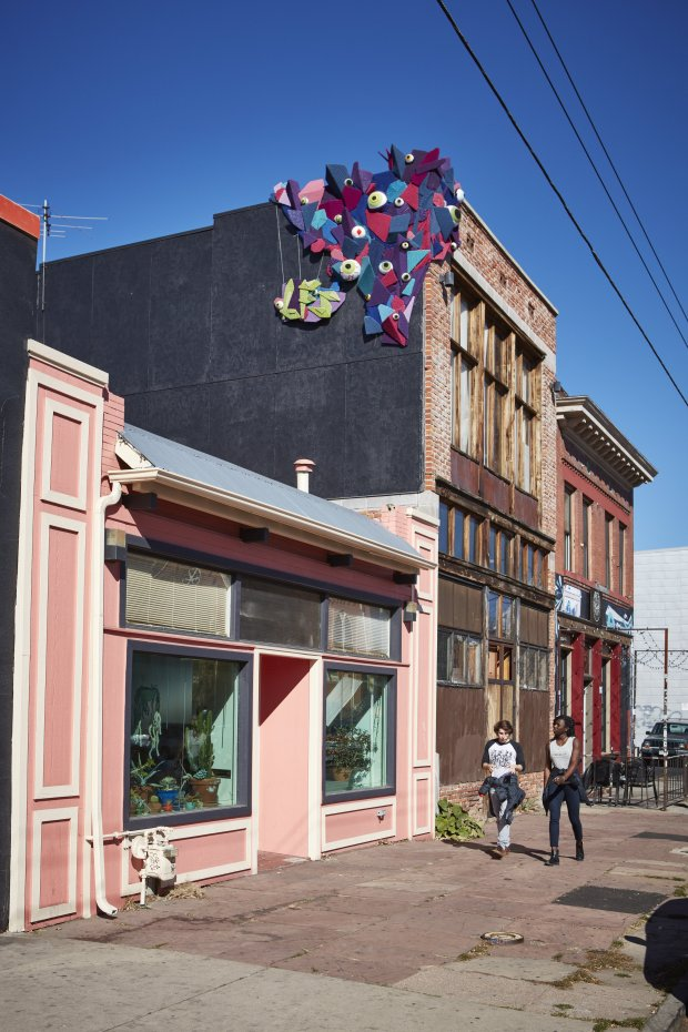 Meet Geode, 'One Part Geometric Enigma, One Part Many-Eyed Monster' and ALL Yarn Bomb!