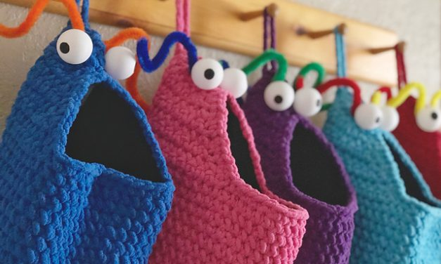 Yip Yips … Get the Crochet or Knit Pattern For These Interplanetary Visitors From the Planet Mars, FREE!