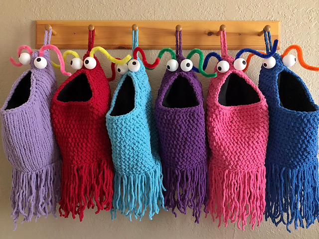 Yip Yips ... Get the Crochet or Knit Pattern For These Interplanetary Visitors From the Planet Mars, FREE!