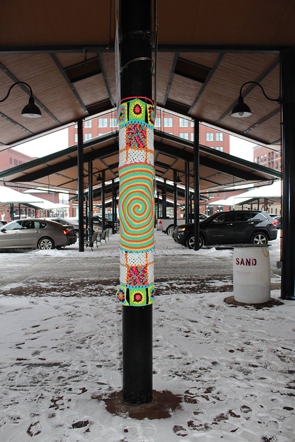 The Saint Paul Cozy Project ... The Yarn Bombing of a City