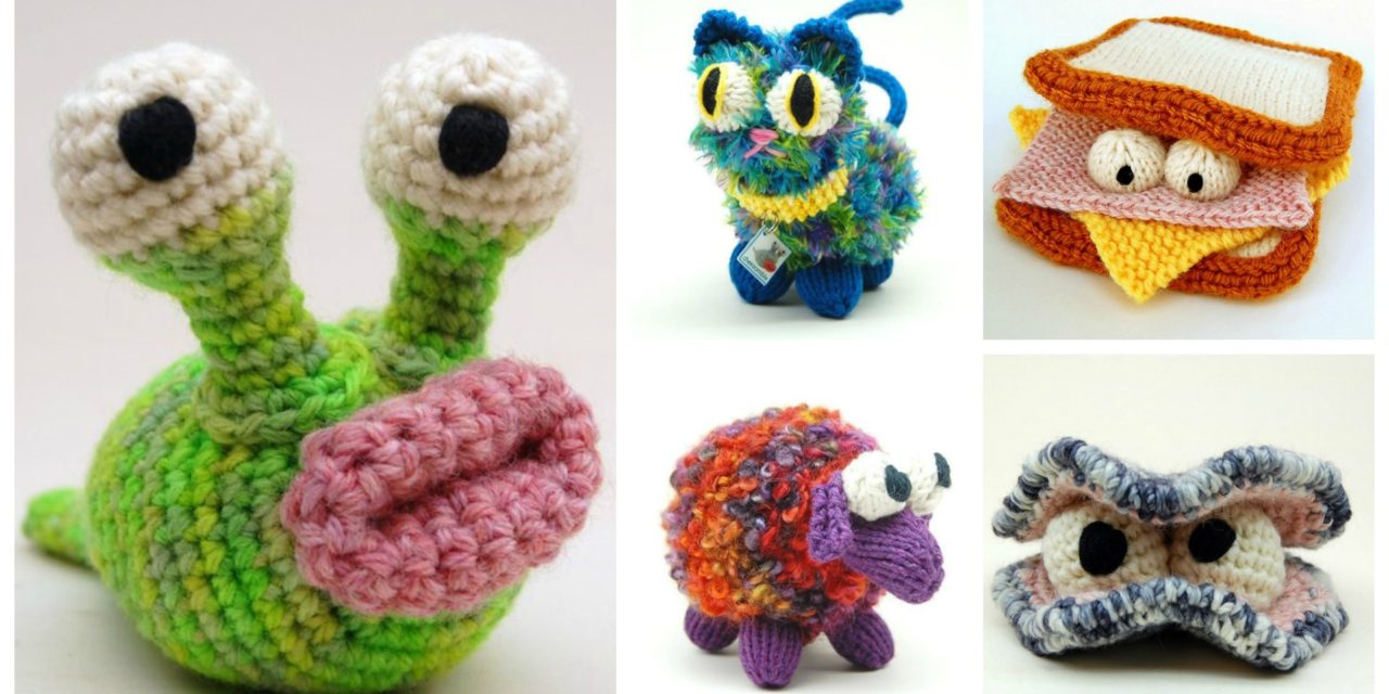 Designer Spotlight: Silly Fun Knit & Crochet Amigurumi Creature Patterns By Cheezombie