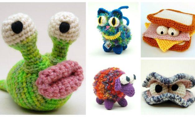 Designer Spotlight: Silly Fun Knit & Crochet Amigurumi Creature Patterns By Cheezombie