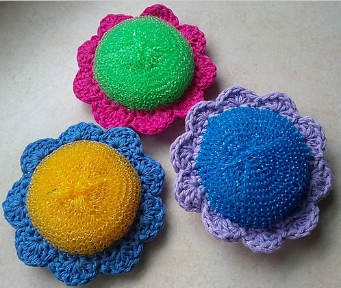 Genius Home Hack ... Crochet Scrubby Patterns For Maximum Cleaning Power! DIY Rules!