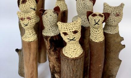 "'Hatab"" … Mikaela Castledine's Crochet Mummified Cats"