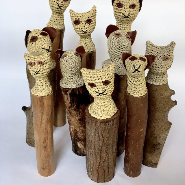 'Hatab' … Mikaela Castledine's Crochet Mummified Cats
