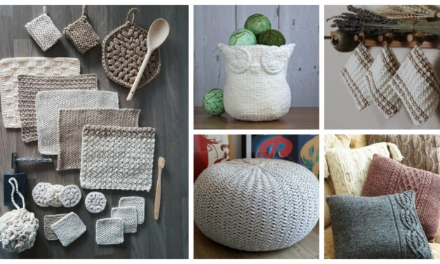 Designer Spotlight: Handy Knit & Crochet Accessories For the Home