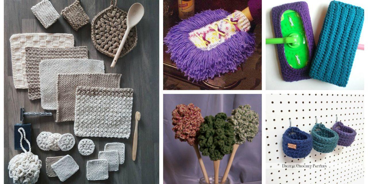 Designer Spotlight: Handy Knit & Crochet Accessories For the Home