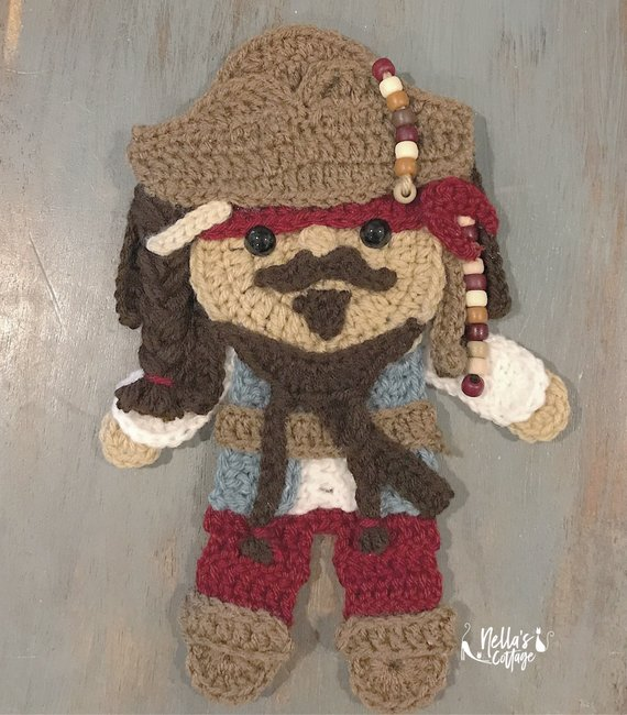 Get the crochet patterns from Nella's Cottage