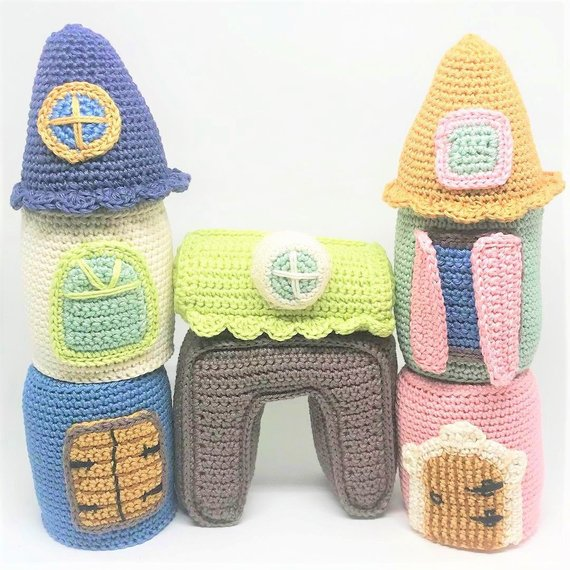 Get the Crochet Amugurumi Set by Amigurumisnl