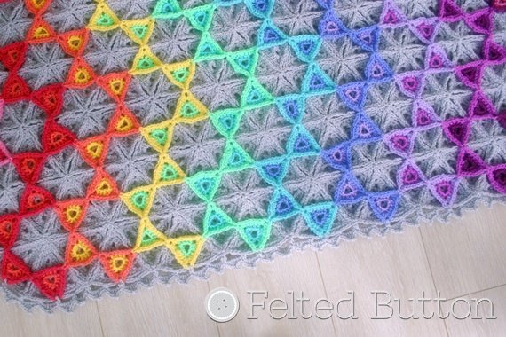 Get the pattern from Susan Carlson of Felted Button