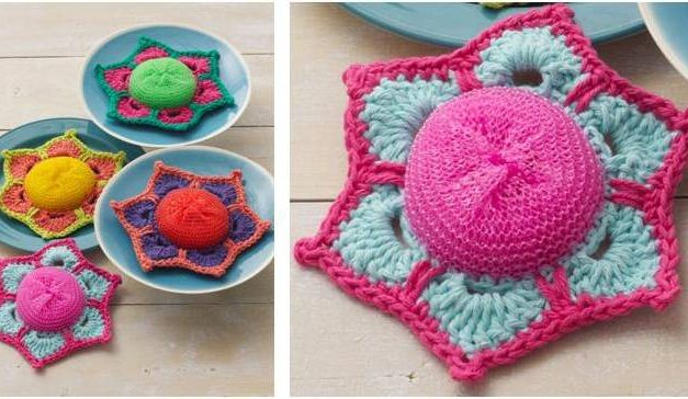 Genius Home Hack … Crochet Scrubby Patterns For Maximum Cleaning Power! DIY Rules!