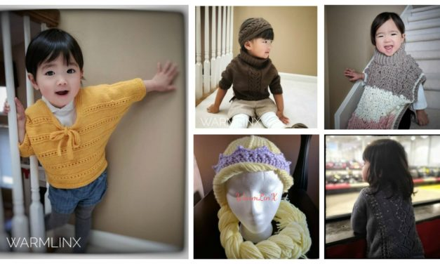 Designer Spotlight: Kid's Knit & Crochet Garments & Accessories Designed by Weiyan Huang of WarmLinX