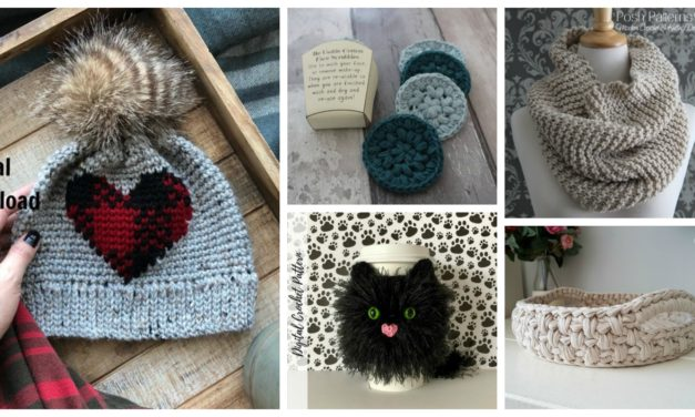 Designer Spotlight: Need Ideas? Here Are 10 Knit & Crochet Patterns You Can Finish Quickly!