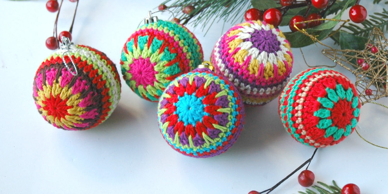 Crochet a Christmas Bauble … Last-Minute Gift, Super Stashbuster!