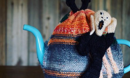 Check Out NekoKnit's 3D Knitted Tea Cozy Inspired By Edvard Munch's Scream Painting