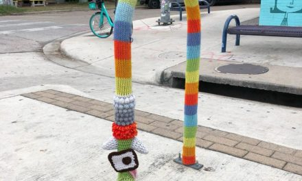 The Best Monster Foot Yarn Bomb – Spotted In Austin!