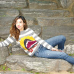 Knit a Toothy Welcome, Welcome Sweater, The Perfect Pattern For Shark Week and It's FREE!