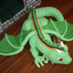 Crochet A Kiefer the Forest Dragon, A Life-Size Baby Dragon Designed By Marie Overton