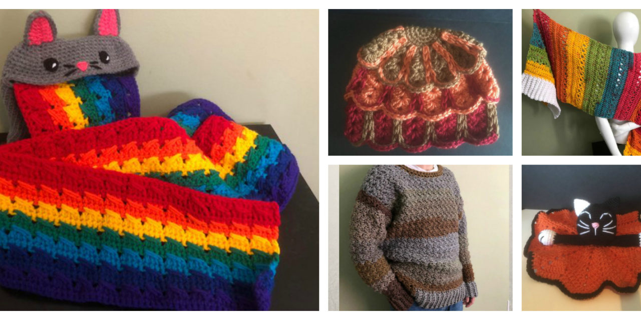 Designer Spotlight: Fun and Funky Crochet Designs By Amanda Julien of StitchedPixels