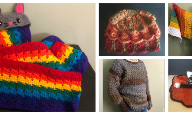 Designer Spotlight: Fun and Funky Crochet Designs By Amanda Julien of StitchedPixels