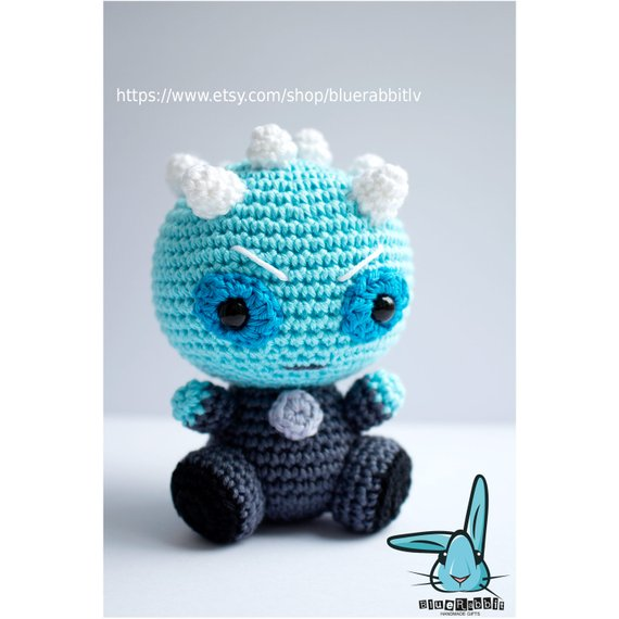 Get the pattern from Irina of Blue Rabbit Toys