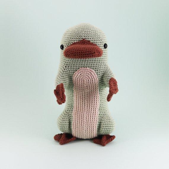 Crochet a Mr. Perry The Platypus Amigurumi
