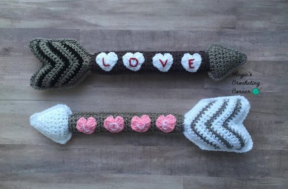 Crochet a Cupid's Arrow For Valentine's Day – Great Idea!