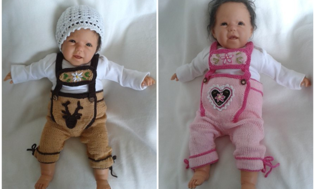 Oktoberfest Is Coming, The Baby Needs Lederhosen … Better Get Knitting!