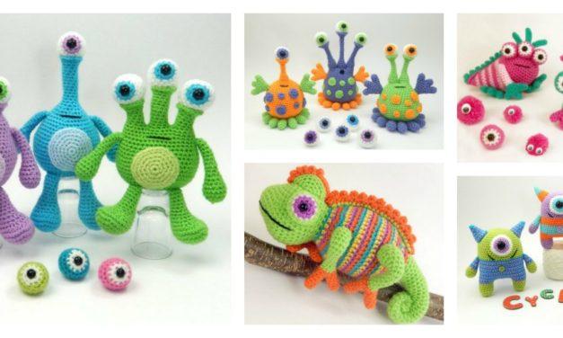 Designer Spotlight: Colorful Crochet Amigurumi Patterns By Moji-Moji Design