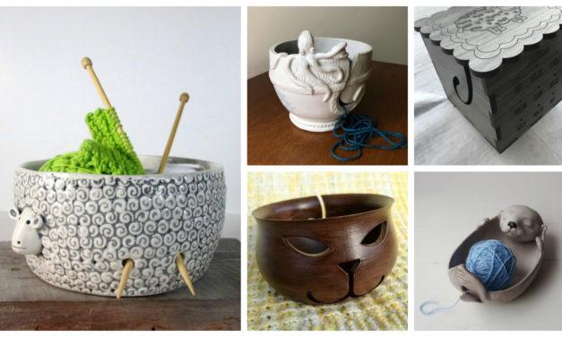 Designer Spotlight: The Weird, Wonderful and Wacky World of Yarn Bowls