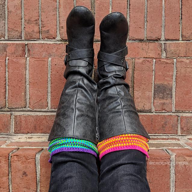 Connie Lee Lynch's Colorful Legwarmers Pattern