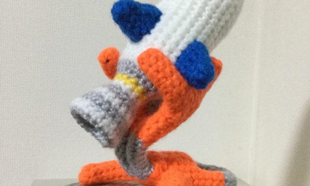 Rocket Sculpture Crocheted By Makoto Kitazawa