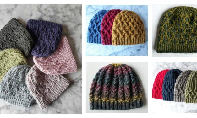 Designer Spotlight: Unique Knit Hats Designed By Mairin Ni Dhonncha of Aran Accessories