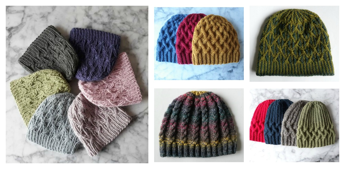 Designer Spotlight: Unique Knit Hats Designed By Mairin Ni Dhonncha of Aran Accessories