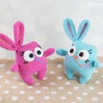 Ridiculously Cute Easter Bunny Amigurumi … Yup, There's a Pattern, It's FREE!